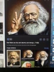 Karl-Marx, pentagramme, valknut,