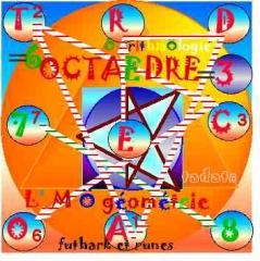 octaèdre, arithmologie,