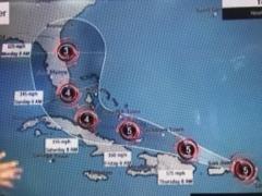 Irma, Josée, Katia, Gulf Stream ,