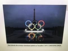 Ö Homme2017 Ä Paris2024 5anneaux, pierre de coubertin,
