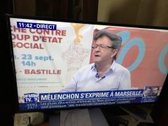 Jean Luc Mélanchon, astronomie, le réchauffement climatique,